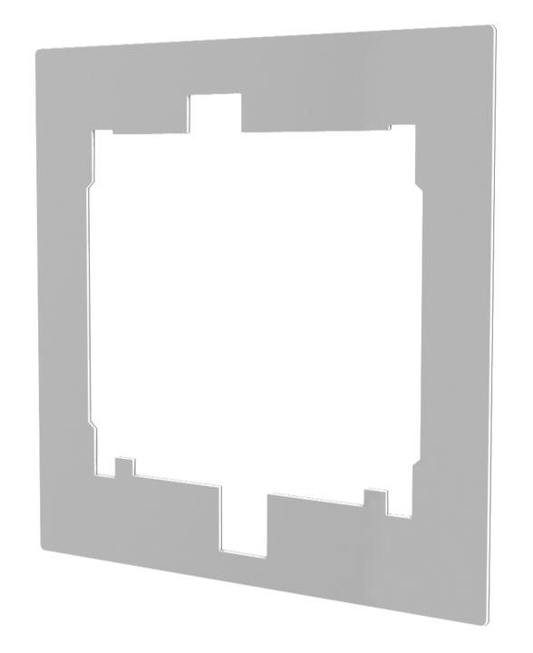 8194 Helios Putzblende zur Überdeckung von Einbautoleranzen ELS-BP