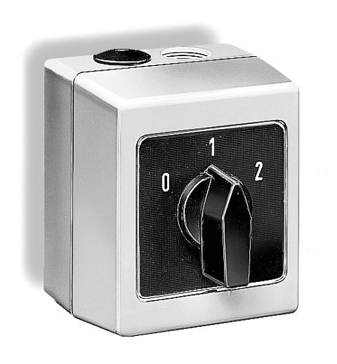 DS 2-2 - Drehzahlumschalter 2-stufig, 2-polig für Wechselstrom ...